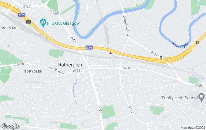 Map for Thistles Estate Agents, Elgin