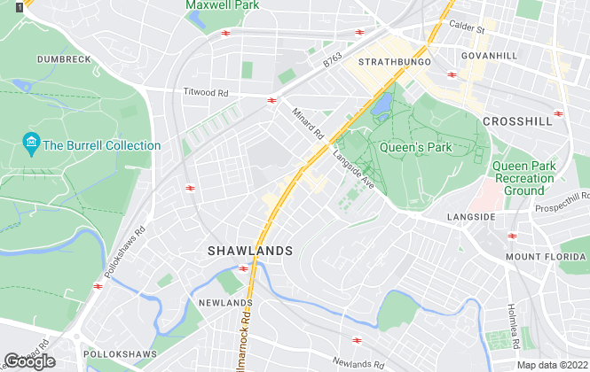 Map for Keys Lawyers & Estate Agents, Shawlands