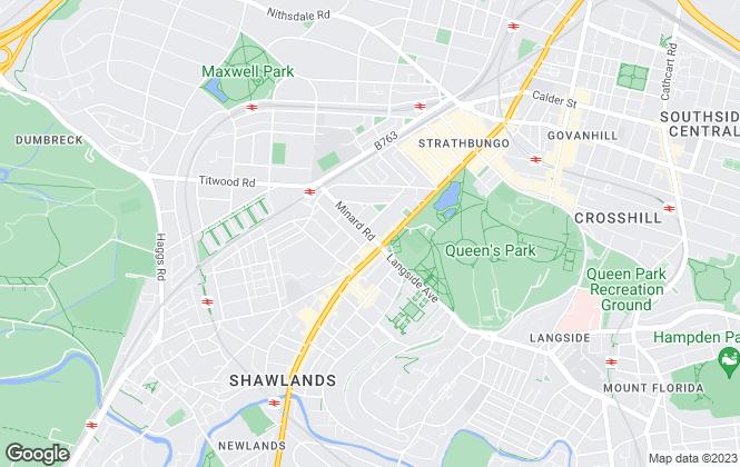 Map for Brunswick Residential Letting Ltd, Glasgow