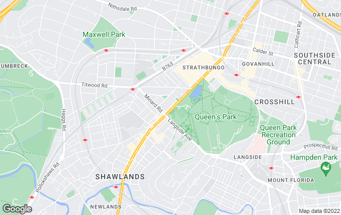 Map for Easy Lets 4 U, Glasgow