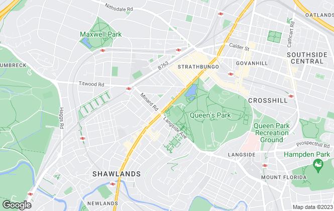 Map for Easy Sales 4 U, Glasgow