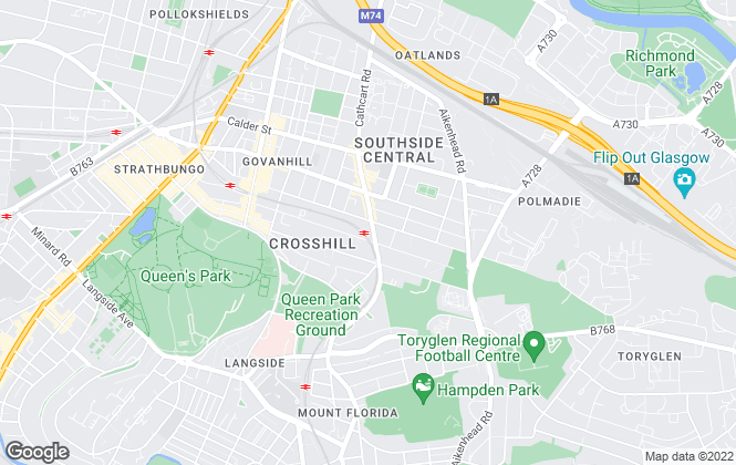 Map for 1st Lets UK Ltd, Glasgow