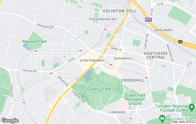 Map for Home Centre, Glasgow