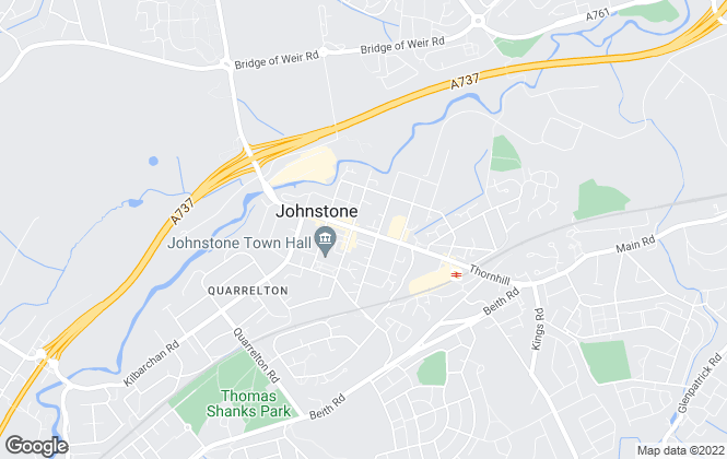 Map for Penny Lane Homes, Johnstone
