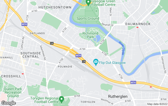 Map for Avant Homes Scotland