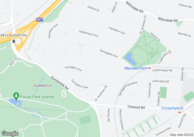 Map for Albert Drive,Pollokshields,GLASGOW,Lanarkshire,G41 4SA,Scotland
