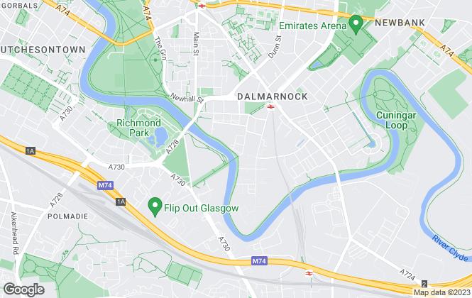 Map for Spectrum Properties (Scotland) Ltd, Glasgow