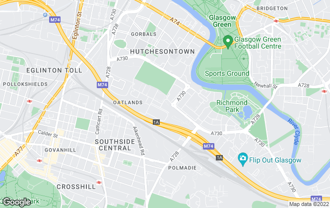 Map for Lease Agreed, Glasgow