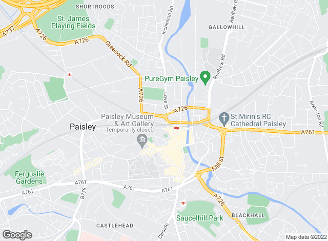 Map for Let It, Paisley