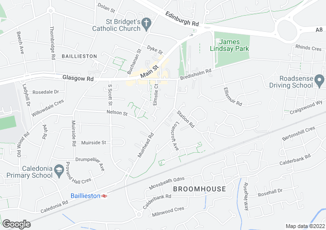 Map for 32 Muirhead Road <br> Baillieston, Glasgow