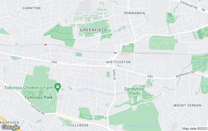 Map for 24.7 Property (Glasgow) Ltd, Glasgow Lettings