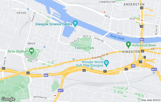 Map for Letfirst, Glasgow