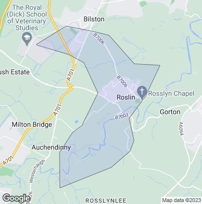 Map of property in Roslin