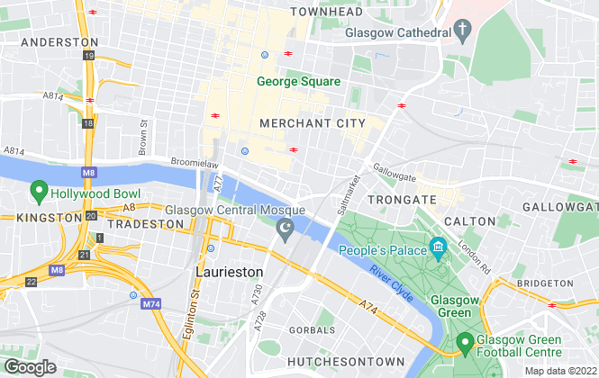 Map for Let It, Glasgow
