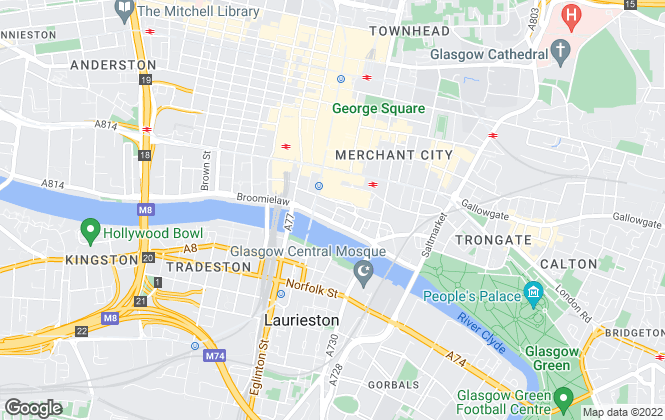 Map for A REGENT LTD, Regent Property