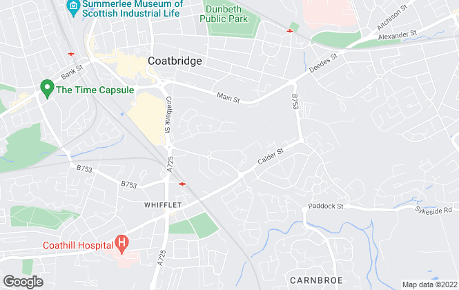 Map for Jewel Homes, Coatbridge - Lettings