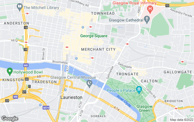 Map for Connect Property, Glasgow