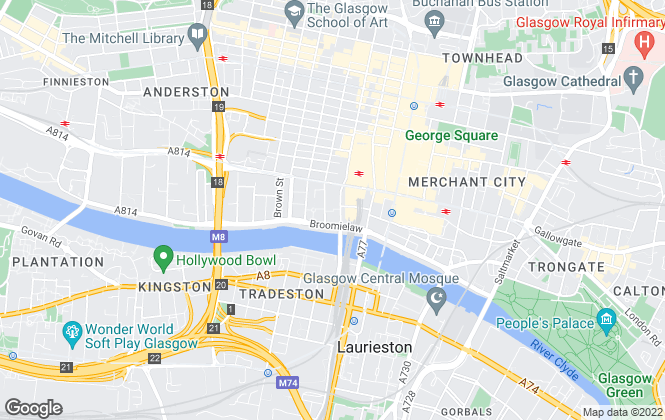 Map for GSL (Glasgow Sales & Lettings) , Glasgow