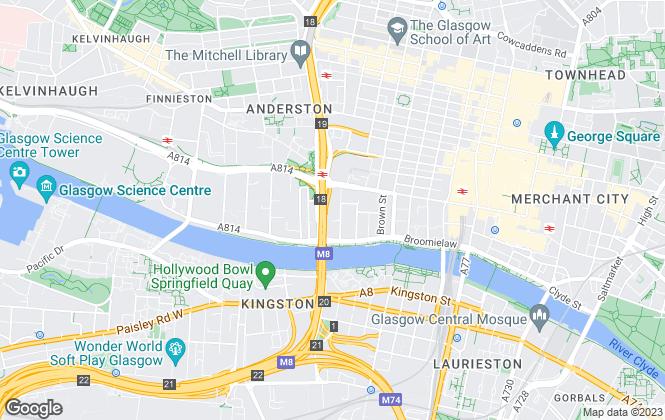 Map for Northwood Investors, Glasgow