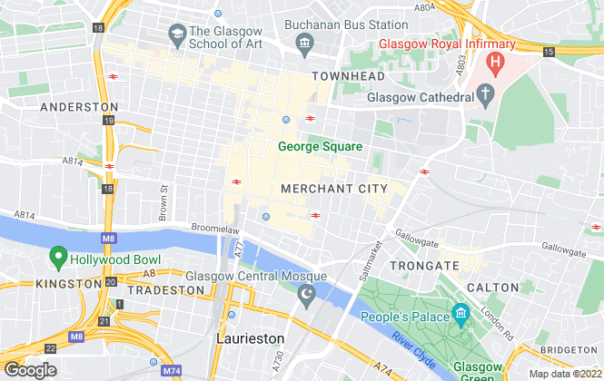 Map for Scot House Move Ltd , Glasgow