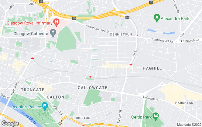 Map for GUARDIAN LETTING & SALES, Glasgow