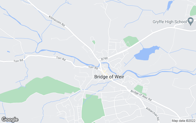 Map for Cockburn & Co, Bridge of Weir