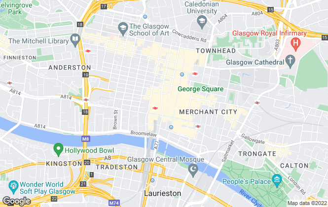 Map for Capital Business Park Limited, Glasgow