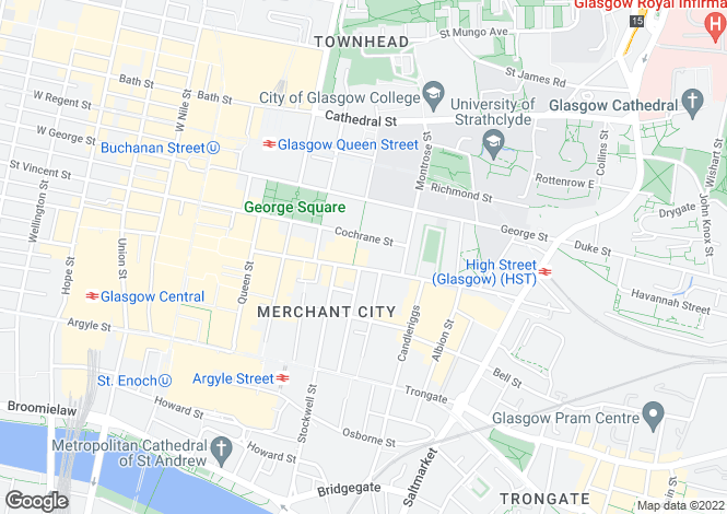 Map for CITY CENTRE, GPO BUILDING