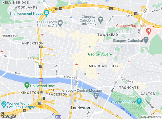 Map for Fineholm , Glasgow - Lettings