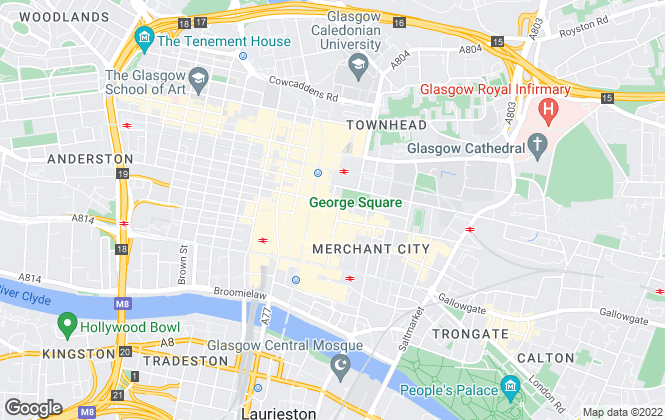 Map for Citres, Glasgow