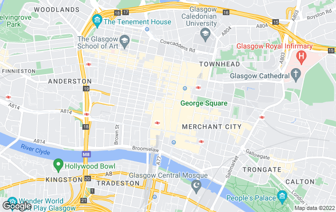 Map for Christie & Co , Glasgow