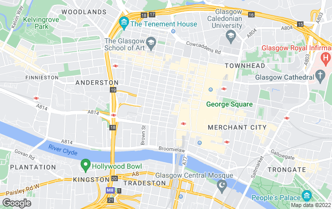 Map for Lapsley McManus Property Consultants LTD, Glasgow