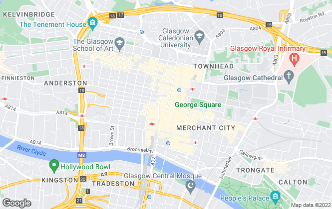 Map for Neil Munro Property Consultancy Ltd, Glasgow