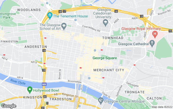 Map for BMK Wilson Solicitors and Estate Agents , Glasgow