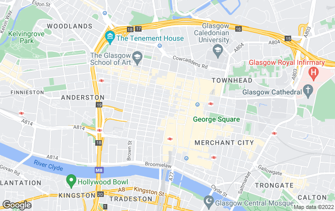 Map for Mileway Real Estate UK Limited, Scotland