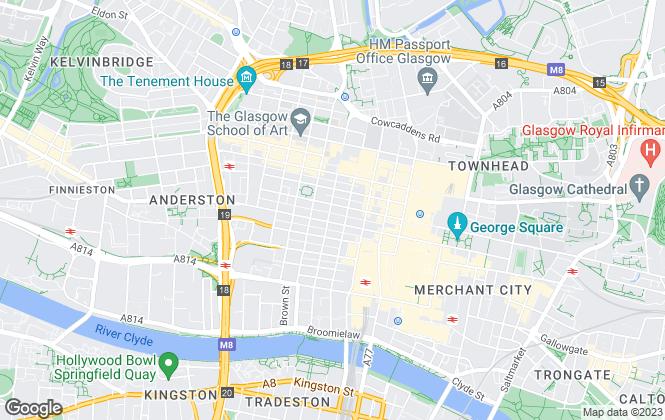 Map for Lambert Smith Hampton, Glasgow