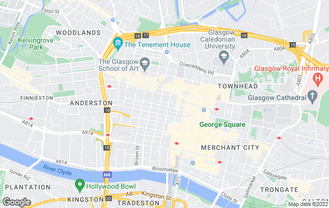 Map for Cargill Property Consultants, Glasgow
