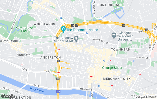 Map for Speirs Gumley Residential Letting Ltd, Glasgow