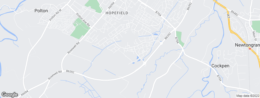 Map for Hopefield Green development by Walker Group