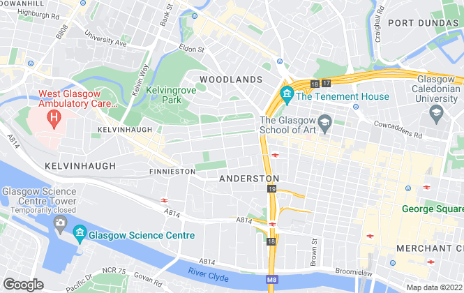 Map for ORBIS PROPERTY, Glasgow