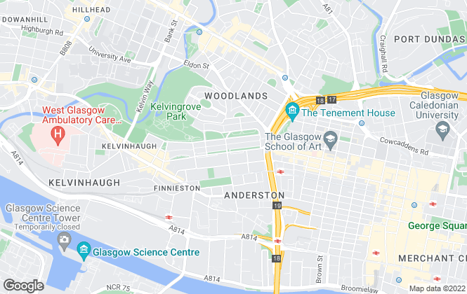 Map for Contempo Lettings & Property, Glasgow
