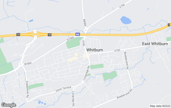 Map for Brown & Co Properties Ltd, Whitburn