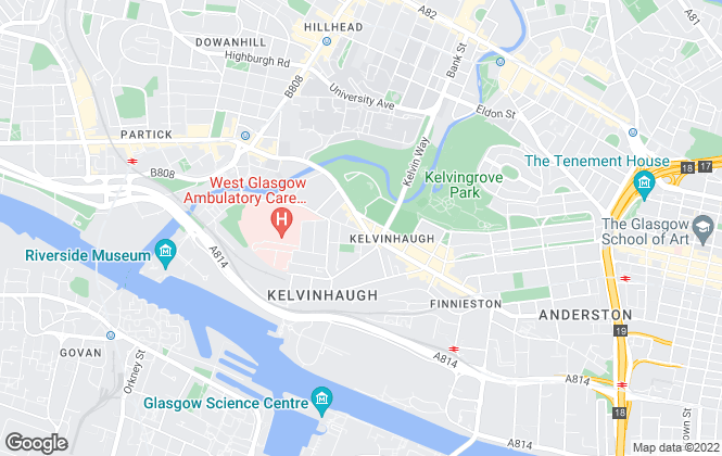 Map for Happy Lets, Glasgow