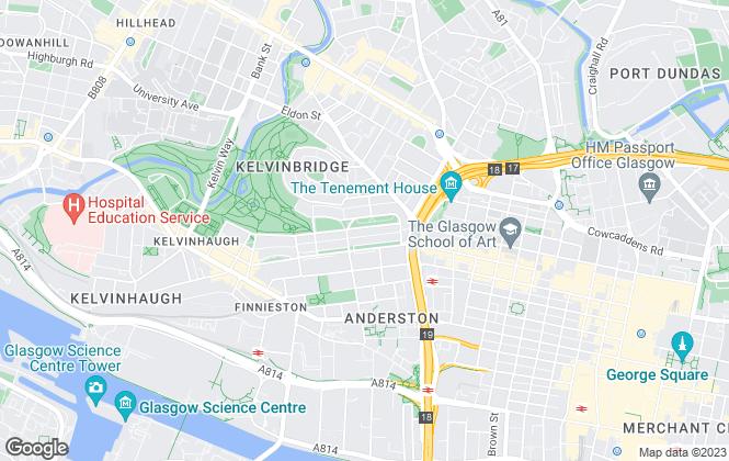 Map for GPA, Glasgow Property Agency, Glasgow - Sales
