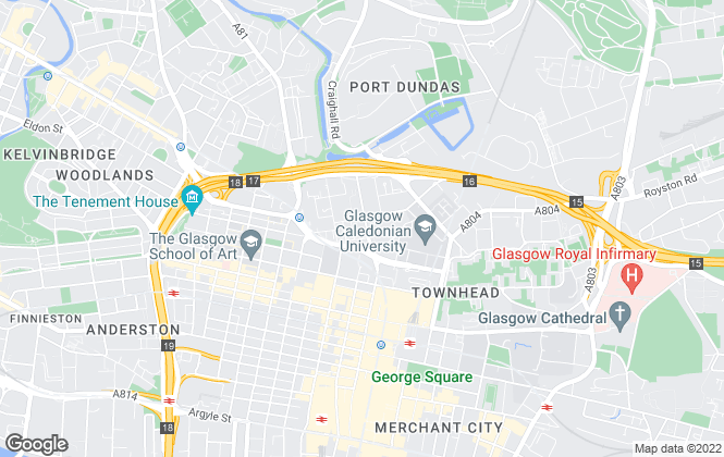 Map for Newton Property Management, Glasgow