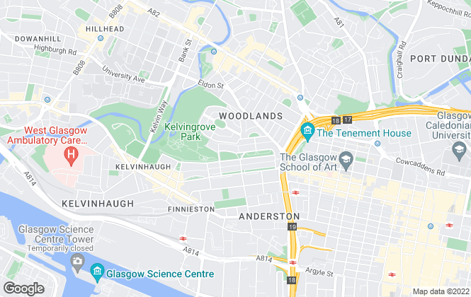 Map for Homes & Whatson LTD, Glasgow