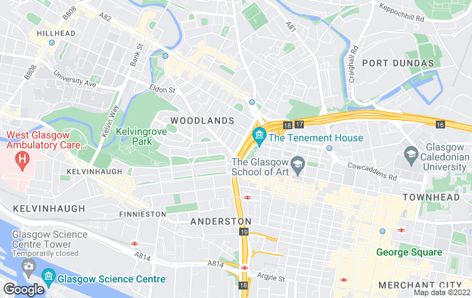 Map for ProBrook Properties, Glasgow