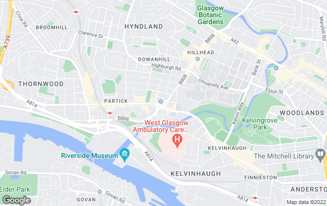 Map for RE/MAX Property Finders, Glasgow