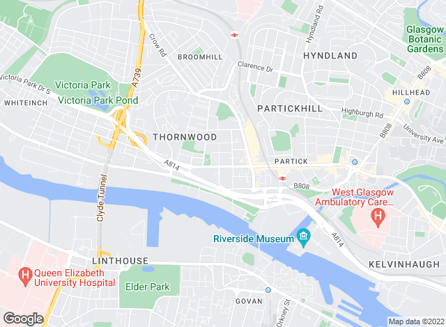 Map for Big Property (Scotland) Ltd, Glasgow