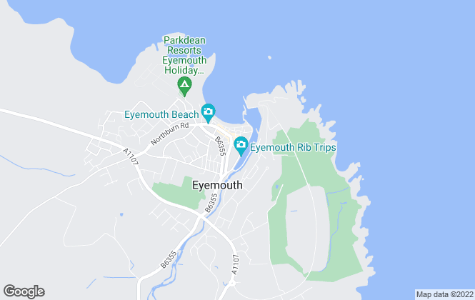 Map for Melrose & Porteous Solicitors & Estate Agents, Eyemouth